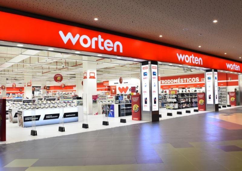 Remodelação da loja Worten na Guia